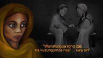 Wanawake waliofanywa watumwa wa ngono na al-Shabab