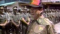 """Manuel Noriega, le """"dictateur"""" panaméen qui émargeait à la CIA"""