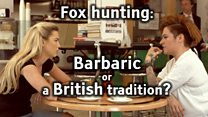 Fox hunting: Barbaric or a British tradition?