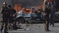 کابل میں سفارت خانوں کے قریب دھماکہ