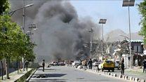 تفجير انتحاري في الحي الدبلوماسي بكابول