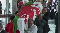A look back at Rhodri Morgan's funeral