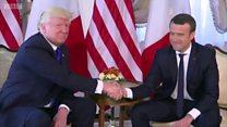Ai đã thắng trong những lần bắt tay với Tổng thống Mỹ Donald Trump?