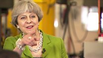 Theresa May defends TV debate stance