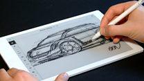 Digital notepad 'feels like real paper'