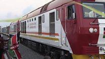 """Au Kenya, une nouvelle ligne ferroviaire """"pour stimuler"""" l'économie"""