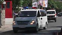 Взрыв в дипломатическом квартале Кабула