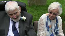 Couple aged 95 and 93 tie the knot