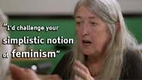 Stringfellow and Beard talk feminism