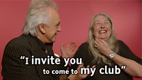 Stringfellow invites Mary Beard to his club