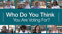 Who do you think you are voting for - Health