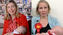 The new mum who want to be MPs
