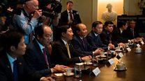 Trump nhắc Việt Nam về thâm hụt thương mại