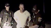 Police release Tiger Woods dashcam video