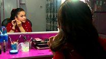 کم سن و سال ترین مجری زن در شبکه های افغانستان