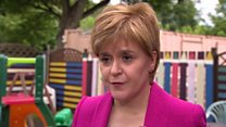 A hard Brexit would be devastating - Sturgeon