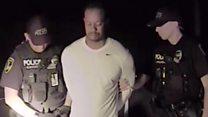 Відео поліції: як хитався гольфіст Тайґер Вудс