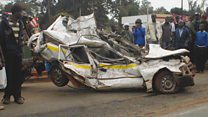 "Au Kenya, campagne contre le chaos des véhicules  ""Matatu"""
