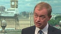 Farron's heated interview over Brexit