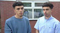 Bomber's arrested cousins 'in shock'