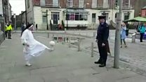 Nun takes on Garda in Limerick