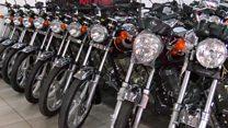 Motorbikes help fuel Togolese economy