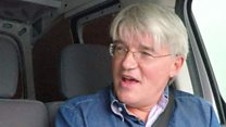 Van share: Tory Andrew Mitchell in minimum wage mishap