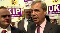 Farage: South Thanet fight now between UKIP and Labour