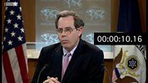 مکث مقام آمریکایی در مقایسه ایران و عربستان