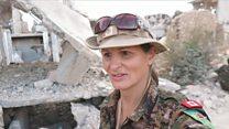 加拿大前模特儿上叙利亚战场