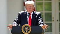 Trump pulls out of climate change deal