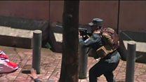 Police gunfire at Kabul blast protests