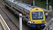 Residents rage at night railway works