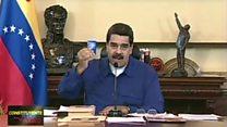 رئیس جمهوری ونزوئلا وعده تغییر میدهد؛ مخالفان تصمیم او را غیر دموکراتیک است