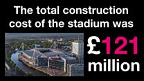 Champions League stadium in numbers