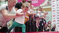 Litvanın ən sürətli körpəsi seçildi