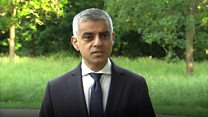 'Grief and anger' - London mayor