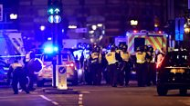 Welsh eyewitness describes London terror
