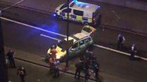 Footage shows scene on bridge