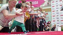 سباق للرضع في ليتوانيا