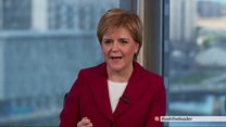Sturgeon: 'I hope Brexit is not a disaster'