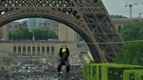 Eiffel Tower Zip wire