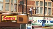 Операция после нападений в Лондоне: задержание через окно