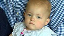 Stroke sufferer's baby delight