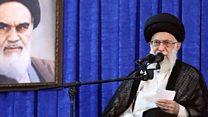 رهبر ایران از لزوم چالش به جای سازش در رابطه با آمریکا گفت
