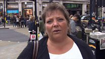 London tourists 'not put off by attack'