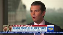 Trump's son criticises London mayor