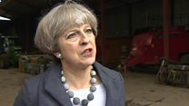 May pledges right trade deal for farmers