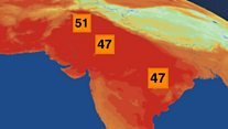 Heat builds ahead of India monsoon