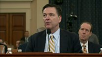 Comey prepares to testify on Trump and Russia